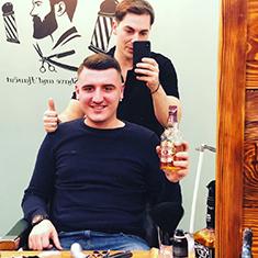 barber shop constanta